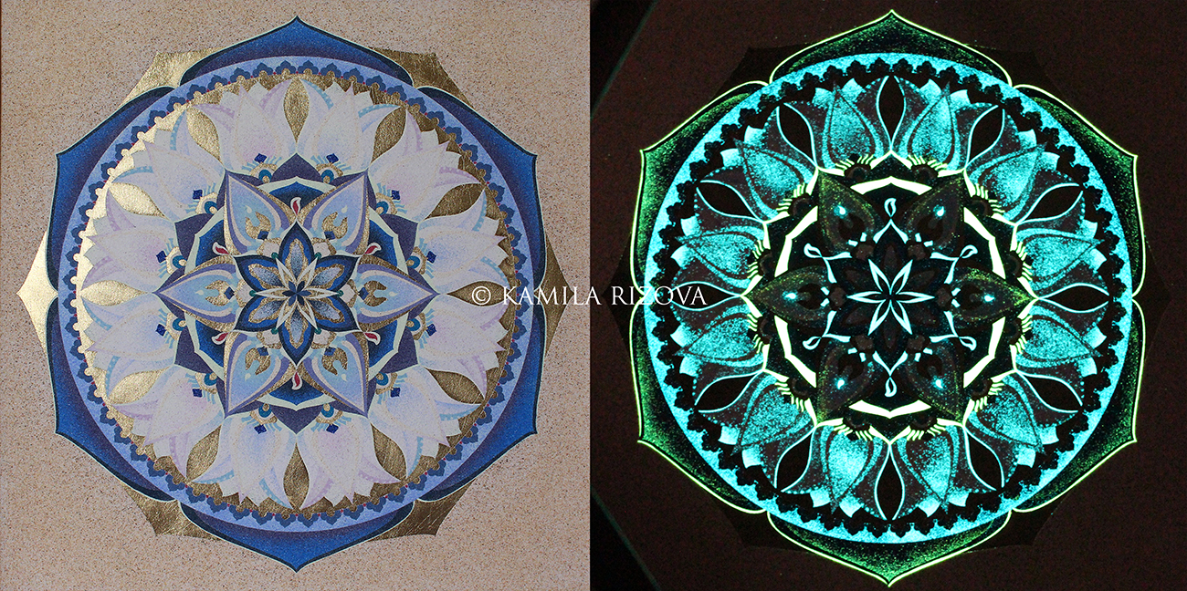 MANDALA AMATIS LUMINISCENT