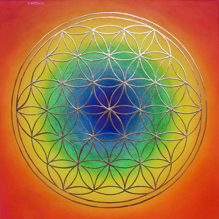 basic flower of life